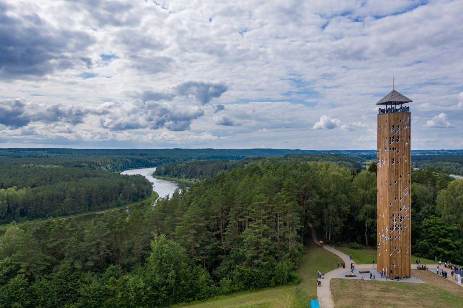 Birštono / Nemuno kilpų apžvalgos bokštas